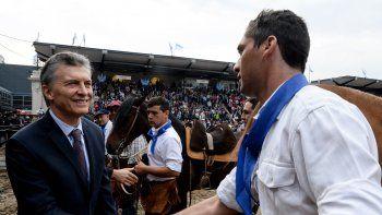 Macri se sintió local en la apertura de la 131ª Expo de la Sociedad Rural.