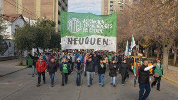 Los afiliados a ATE inician hoy un nuevo plan de lucha contra el Gobierno.