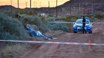El cuerpo de Fernanda apareció calcinado a la vera de la Ruta 6.