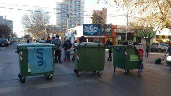 ATE cortó las calles Alderete y Buenos Aires