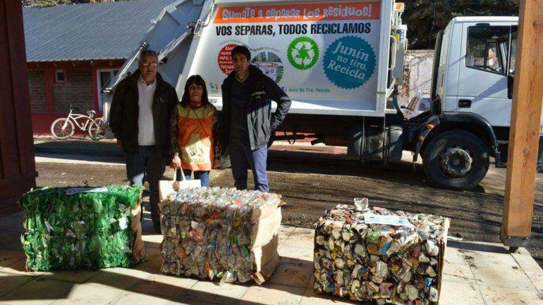 Desde hoy, Junín de los Andes separa y recicla la basura