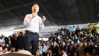 Macri le pone el cuerpo a la campaña. Su idea es ir a una provincia por día.