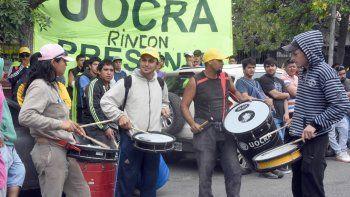 Una de las tantas protestas que se realizaron en la capital neuquina.