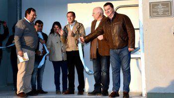 Gutiérrez inauguró el matadero de Loncopué