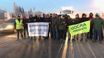 La Uocra amenaza con cortar la ruta en protesta contra Techint