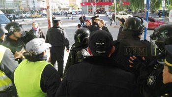 ATE-Policía: tensión por la ocupación de una oficina
