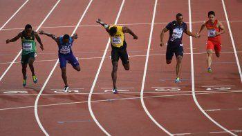Sin despedida soñada: Bolt terminó tercero en la final de 100 metros