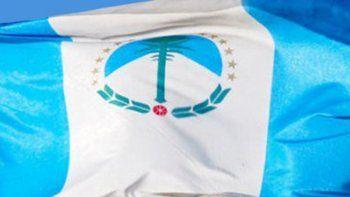 La bandera de la provincia del Neuquén.