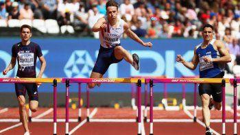 Ruggeri pasó a las semifinales en 400 metros con vallas