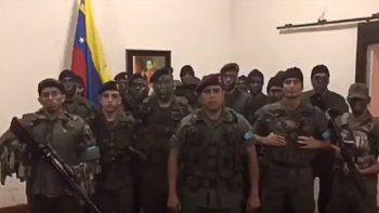 El Gobierno venezolano frenó un levantamiento militar