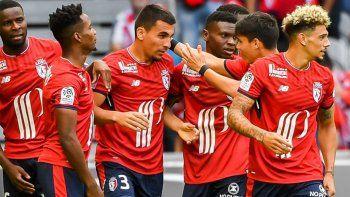 El Lille de Bielsa goleó al Nantes en el inicio de la Ligue One