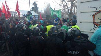 Tensión: ATE interrumpió un acto del MPN en Junín de los Andes a una semana de las PASO