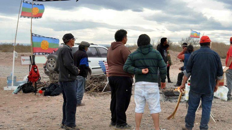 La Confederación Mapuche salió a respaldar a la comunidad denunciada.