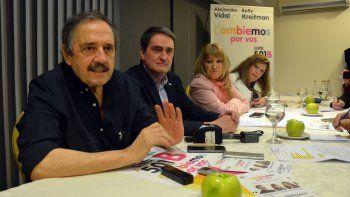 Alfonsín les dio el último empujón a Alejandro Vidal y Beatriz Kreitman.