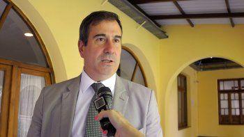 El ministro de Salud, Ricardo Corradi Diez.