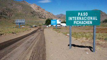 El paso Pichachén, del otro lado de la cordillera.