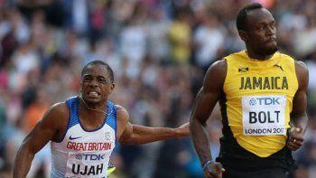 Usain Bolt llevó a Jamaica a la final de postas y se prepara para su despedida