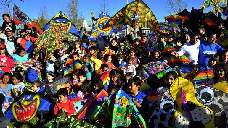 Con ansiedad, esperan la Gran Barrileteada en Altos del Limay