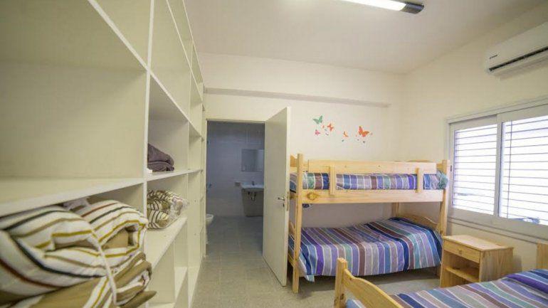 En Mendoza ya se inauguró un refugio que cuenta con todas las comodidades.