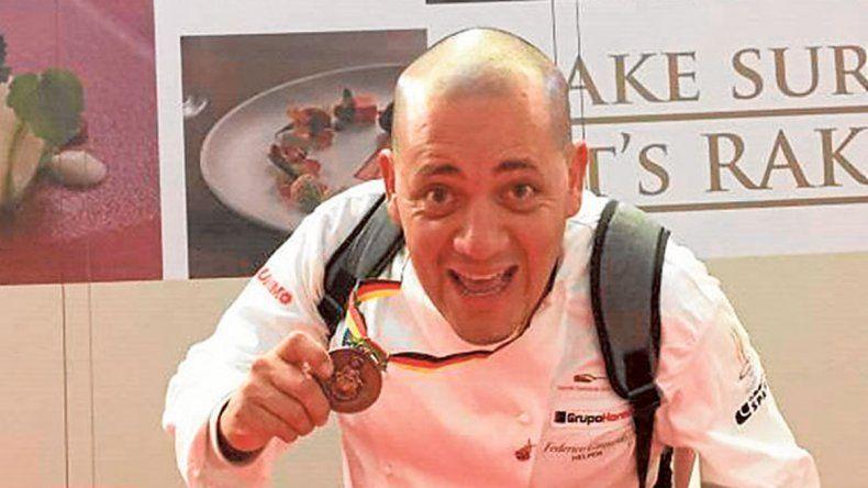 Medalla de bronce en la vigesimocuarta edición de la Olimpíada de Cocina en Erfurt