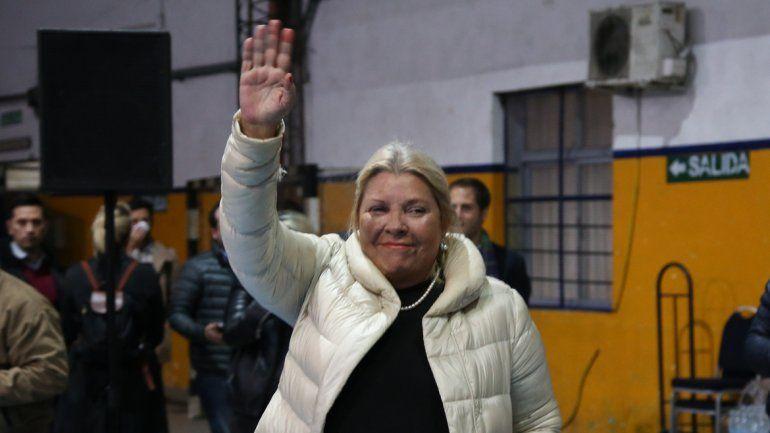 La referente de la Coalición Civica supera el 45% de los votos en el inicio de los números oficiales