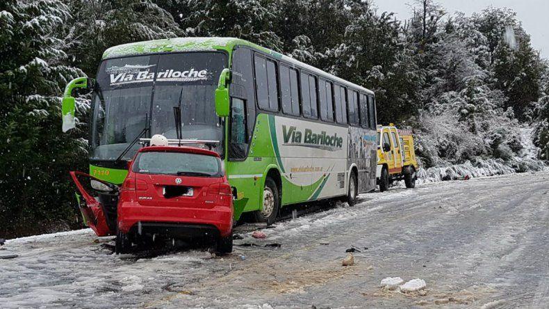 Así fue el accidente de Mauro Giallombardo en Villa La Angostura