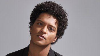 Bruno Mars donó u$s1 millón a víctimas de agua contaminada