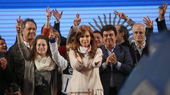 Cristina: Perdieron y pretenden manipular el resultado electoral