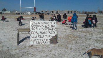vecinos le reclaman tierras al municipio para viviendas