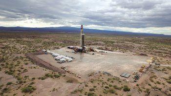 Shale. En El Orejano se da la mayor producción de gas en Vaca Muerta.