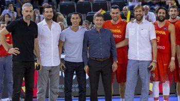 Nocioni y Prigioni fueron homenajeados en Madrid