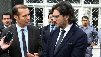 El ministro Garavano estuvo ayer con Gutiérrez. También con Quiroga.