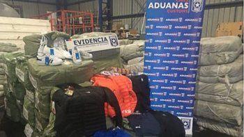 Detectan en Samoré otro millonario contrabando de ropa trucha
