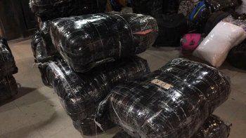 La AFIP incautó un millonario cargamento en Mamuil Malal