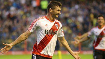 ¿Podría perder River los goles de Alario en la Superliga?