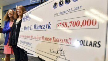 Una apostadora ganó 700 millones en la lotería de Estados Unidos