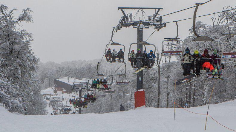 Chapelco se mantiene con récord de visitantes. Los operadores del centro de esquí esperan un gran septiembre.