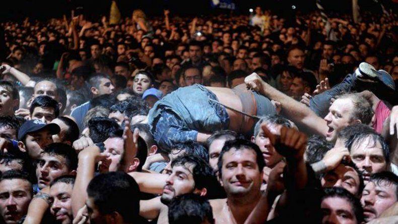 El recital del Indio en Olavarría terminó con dos muertos.