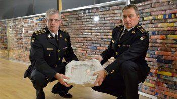 Incautan mil kilos de cocaína llevada desde Argentina
