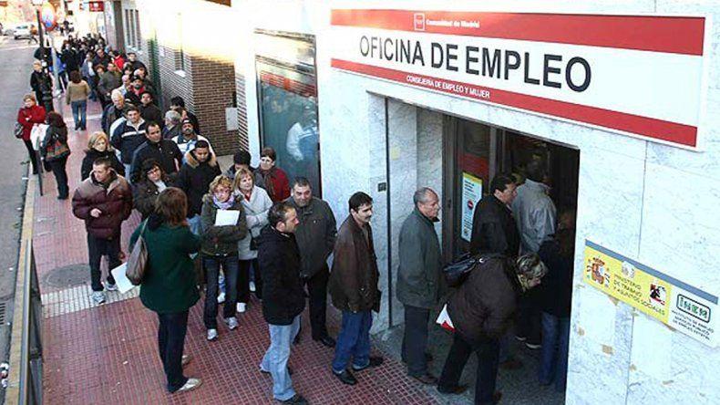 Sigue la crisis: en España el desempleo es del 17%