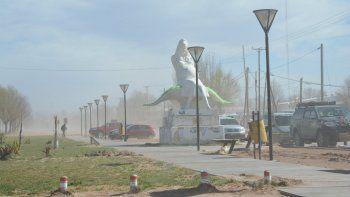 Crimen de Rincón: el fuerte viento obligó a suspender la marcha