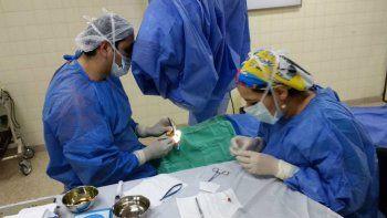 Después de dos años se retomaron las cirugías de ojos en Chos Malal