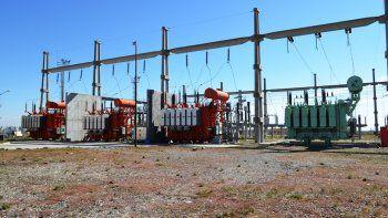 La estación transformadora del EPEN que abastecerá a CALF.