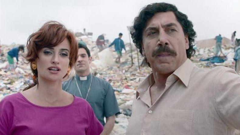 Un calco: así luce Bardem como Pablo Escobar