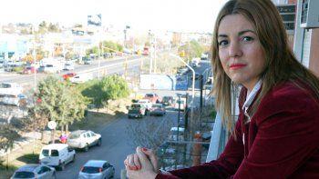 Carolina García se mostró comprometida con la lucha contra la violencia.