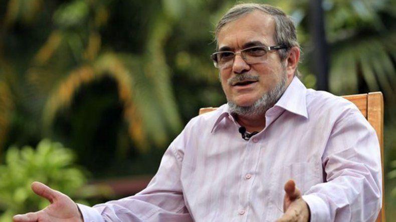 Timochenko fue elegido líder del partido político de las FARC