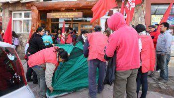 El MTD tomó el Concejo Deliberante de Junín para pedir tierras