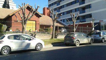 La familia que sufrió el ataque vive sobre calle Entre Ríos casi Leloir.