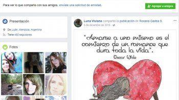 Viviana Luna el 7 de diciembre del año pasado salió de su casa en Potrerillos hacia una entrevista laboral y no se supo más de ella.