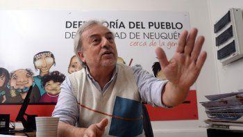 Ricardo Riva, defensor del Pueblo de Neuquén.